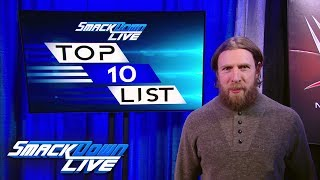 Daniel Bryan reveals the first SmackDown LIVE Top 10 Superstars List: SmackDown LIVE, Feb. 6, 2018