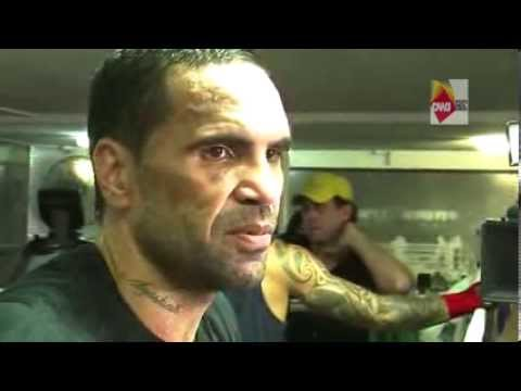 Boxer Anthony Mundine presser 24th Jan 2014