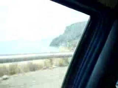Příjezd na hippie nuda pláž