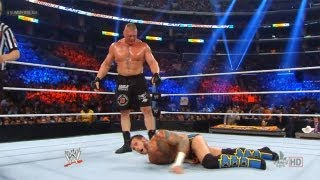 WWE Summerslam 2013 CM Punk Vs Brock Lesnar The Best Vs
