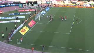 La sacaron en la línea. River 0 - Olimpo 0. Fecha 16. Primera División 2014. FPT