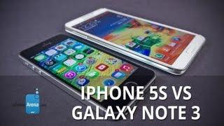 Apple IPhone 5s Vs Samsung Galaxy Note 3