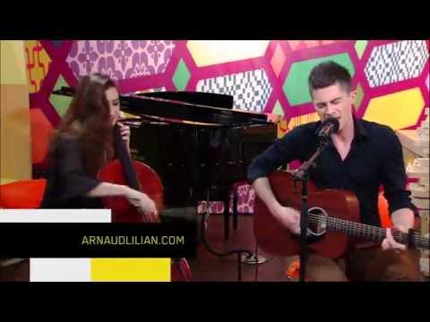 Arnaud Lilian, vidéo duo, Si tu m'entends + Interview - Passage TV sur MAtv, émission Jeudredi, Québec. Beth Silver (violoncelle)