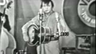 Johnny Cash Impersonates An Elvis Impersonator