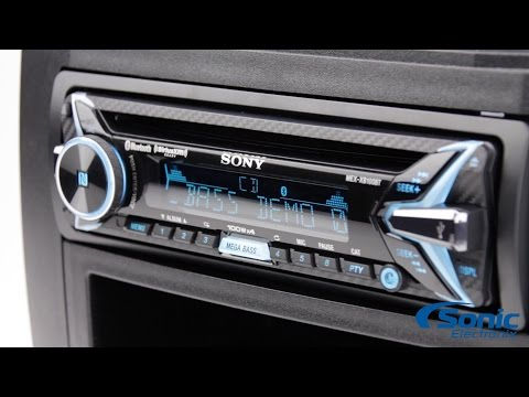 Close Look: Sony MEX-XB100BT Car Stereo