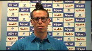 Marek Hamsik invita i tifosi al ritiro di Dimaro-Folgarida