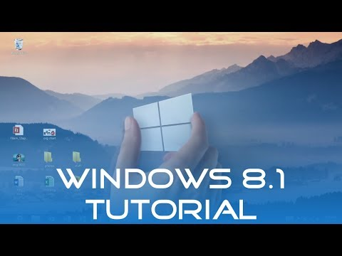 Windows 8.1 Tutorial (Deutsch/German)