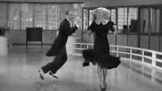 Penny Rogers y Fred Astaire