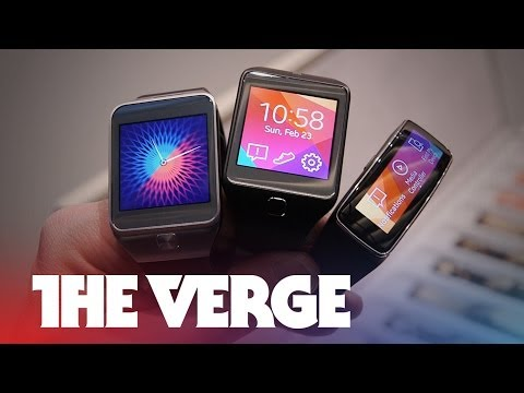 Samsung Gear 2, Gear 2 Neo, and Gear Fit hands-on