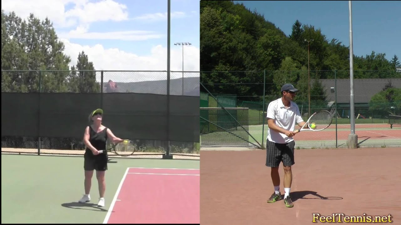 how to properly serve in tennis