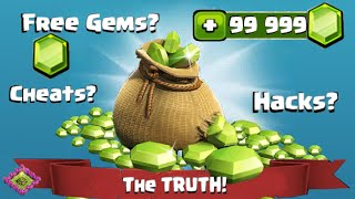 Clash Of Clans Hack Cheats Free Gems The TRUTH!