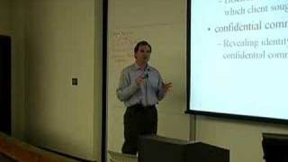 LECTURES: Professor Tom Lyon's Evidence Class 4/11/07