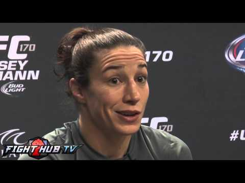 UFC 170 Ronda Rousey vs. Sara McMann- Full McMann video scrum