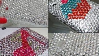 DIY: Customizando Capa De Celular Com Cristal Adesivo