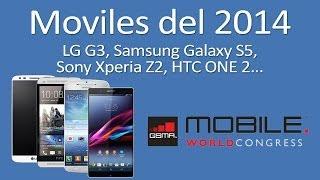 Móviles Del 2014: Galaxy S5, HTC One 2, LG G3 Y Xperia Z2