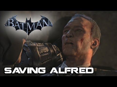 Batman Saves Alfred - Batman Arkham Origins Emotional Scene