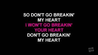 Don't Go Breaking My Heart In The Style Of Rupaul Karaoke