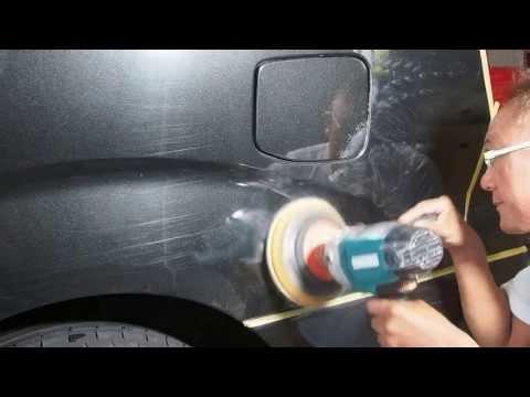線傷を消す為の車の磨きを一部始終公開します