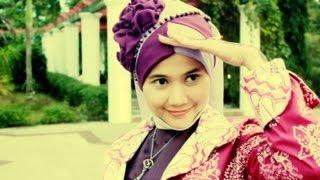 Hijab Tutorial Shawl Pesta Dan Wisuda Running Ramadhan
