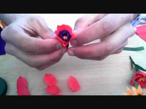 How to make paper flower rose ii beautiful flowers video mightylinksfo
