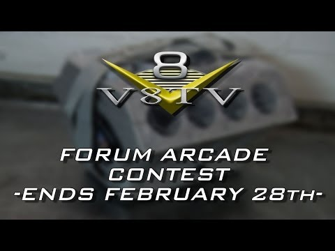 NEW CONTEST - V8TV ARCADE!  Ends 2.28.14