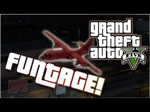 GTA V Funtage! (Grand Theft Auto 5 Funny Moments Montage),