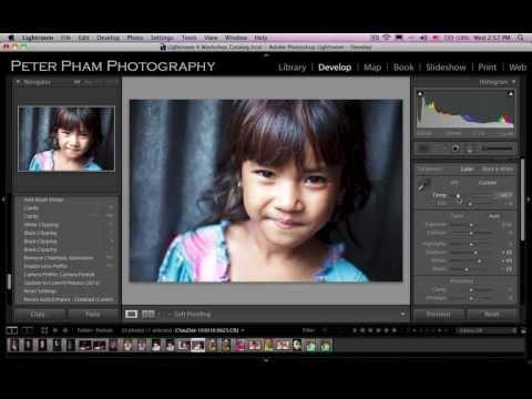Học Lightroom 4 - 047 Xử lý ảnh chân dung 4
