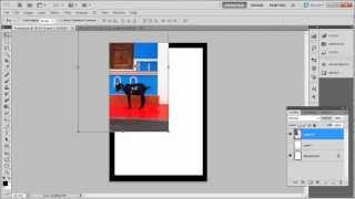 How To Place Photo In Frame In Photoshop CS5