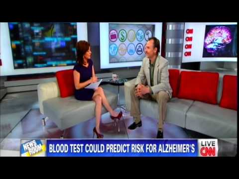 Dr. E... on CNN Discusses Psychological Implications of Blood Test for Alzheimer's