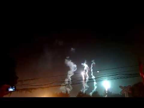 Bắn pháo hoa ngày giải phóng thủ đô