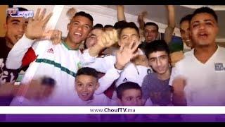أجواء حماسية من مقهى شعبي بقلعة سراغنة خلال مباراة المغرب و إيــران   |   زووم