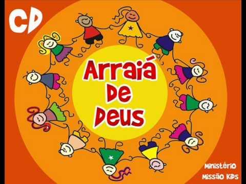 Musica arraia gospel -  ministério Missão Kids - Missão Betesda Rio do Ouro