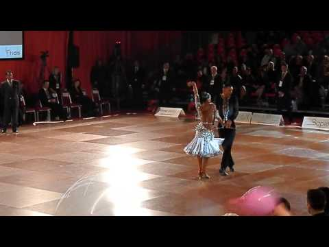 Salvo Caruso & Ketty Cultrera  Jive Rome Open 2013 Adult Ten Dance PD World Champ.