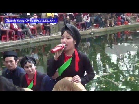 07 Hoi lim quan ho 2016 hat tren thuyen  Huong Lien Pull HD