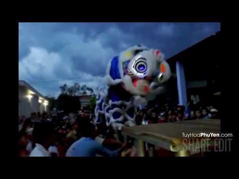 Lân Mai Hoa Quỳnh - Phú Yên biểu diễn rất hay