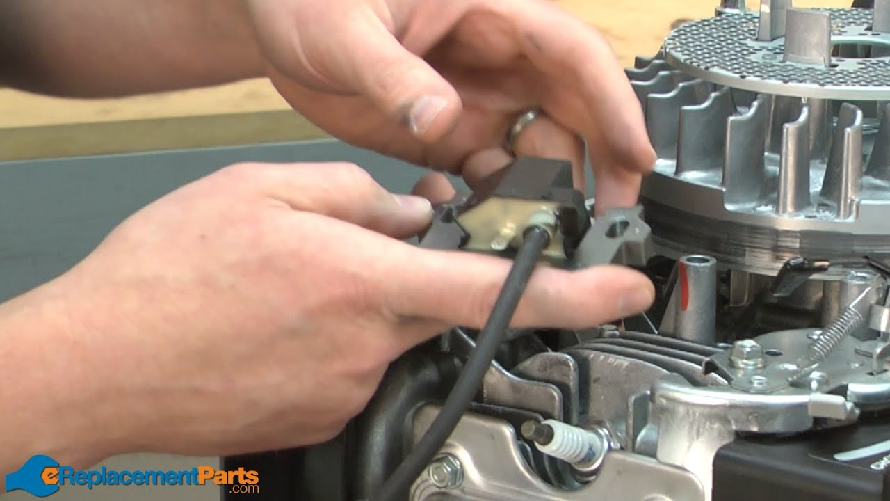 How to Replace the Ignition Coil on a Troy-Bilt TB130 Lawn Mower (Part # 30500-ZL8-014) - YouTube