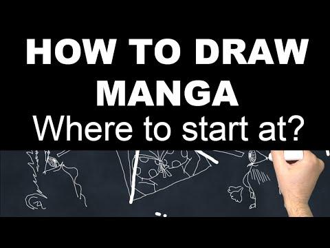 How to Draw Manga - Part 1: Where to Start at?