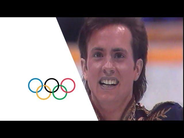 Brian Boitano Figure Skating Highlights - Calgary 1988 Winter Olympics