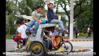 Philippines Sidecars / Tricycles Jeepneys Filipijnen