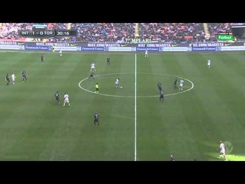 Gol Rodrigo Palacio Inter 1 Torino 0 Serie A 9-3-14