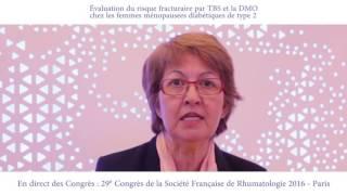 Évaluation du risque fracturaire par TBS et la DMO chez les femmes ménopausées diabétiques de type 2