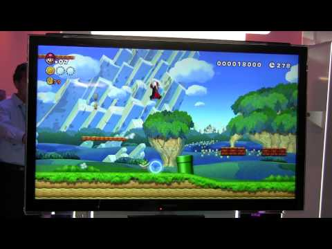 New Super Mario Bros. U Gameplay Footage with Audio (E3 2012),