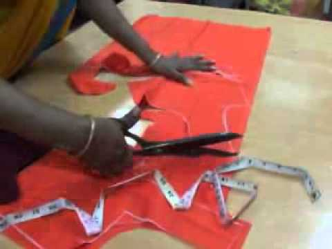 Www.Blouse Cutting In Telugu 17