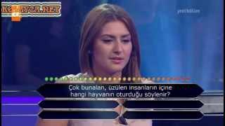 Kim Milyoner Olmak Ister 244. bölüm Berat Tuna 26.06.2013