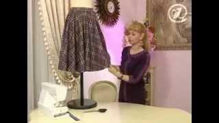 Como Hacer Una Falda Circular Escocesa
