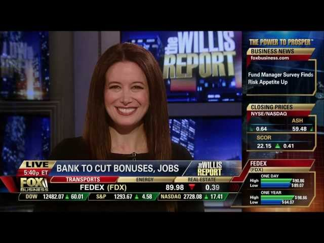 Carol Roth on Morgan Stanley Wall Street Bonuses Fox Business Willis Report