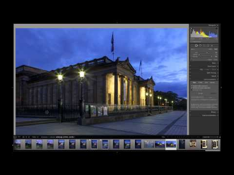 Edinburgh Evening Post Processing.