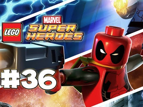 LEGO Marvel Superheroes - LEGO BRICK ADVENTURES - Part 36 - Starlord! (HD Gameplay Walkthrough)