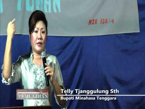 Khotbah Telly Tjanggulung Sth, edisi natal