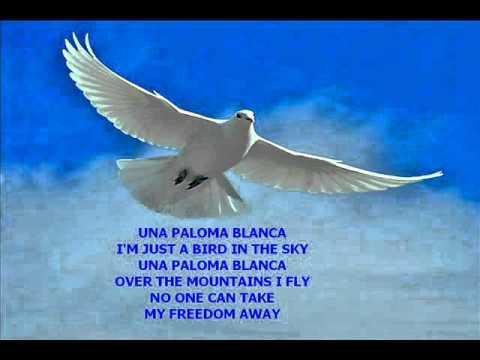 UNA PALOMA BLANCA BY-THE PAYNES (LEONARD & TESTAVIEW) & FRAN-USA.wmv ...